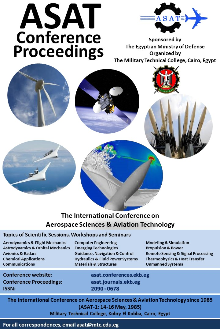 International Conference on Aerospace Sciences and Aviation Technology